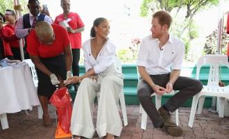 Rihanna's Live HIV Test with Prince Harry