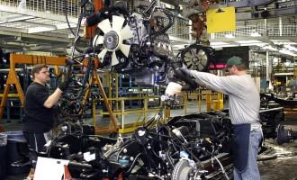 GM President, Michigan Governor Visit Flint Assembly Plant