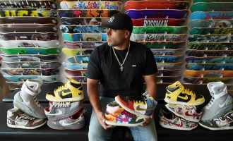 How Chris Robinson, AKA SB Collector, Battles For Big Wins In Sneakers