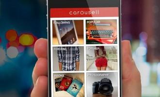 Screenshot of Carousell App