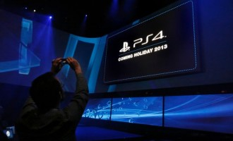 PlayStation 4 launch event in New York.