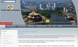 Cahya Mata Sarawak Bhd (CMS)