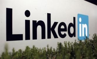 The logo for LinkedIn Corporation