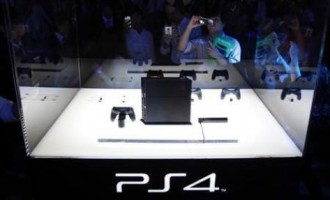 Sony Corp's PlayStation 4