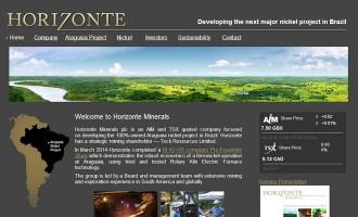 Horizonte Minerals Plc