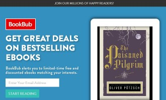 BookBub Homepage