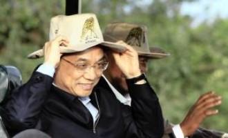 Chinese Premier Li Keqiang and Kenyan President Uhuru Kenyatta