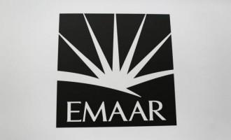 A logo of Emaar