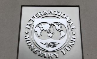 The International Monetary Fund (IMF) logo