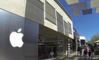 An Apple retail store
