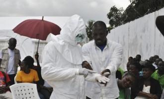 Ebola virus treatment centre