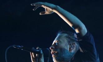 Thom Yorke of British band Radiohead
