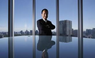 Japan's Economics Minister Akira Amari
