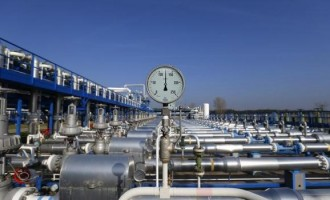 Gas storage facility