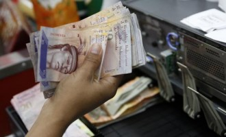 Venezuelan bolivar notes