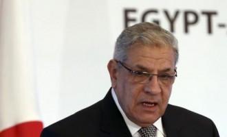 Egypt's Prime Minister Ibrahim Mehleb