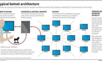 typical botnet architecture