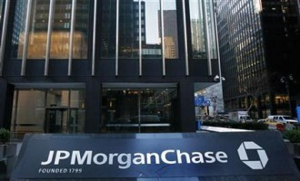 JPMorgan and Chase headquarters in New York.
