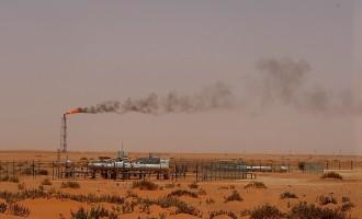 SAUDI-DESERT-OIL-ARAMCO