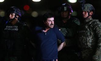 Drug Kingpin Joaquin 'Chapo' Guzman Recaptured By Mexican Authorities