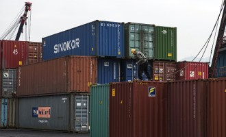 Port Area Ahead Of Hong Kong's Trade Figures