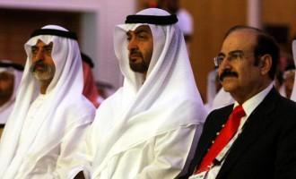 Abu Dhabi's Crown Prince Sheikh Mohammed