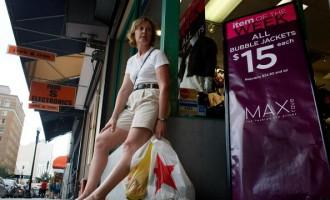 Consumer Spending Squeezed As Economy Falters