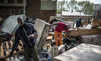 SAFRICA-POLITICS-HOUSING-EVICTIONS