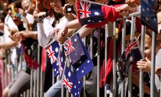Australia Day In Melbourne