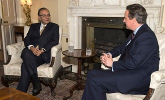David Cameron Receives Indian Delegation As Gandhi Statue Is Unveiled In London