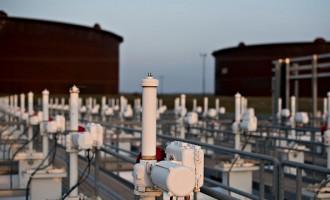 Views Of Largest U.S. Oil Hub As Stockpile Growth Slows