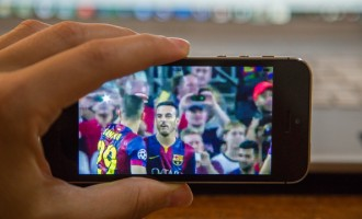 Mobile TV Watching