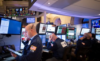 Traders Work On The Floor NYSE As Stock Rout Deepens