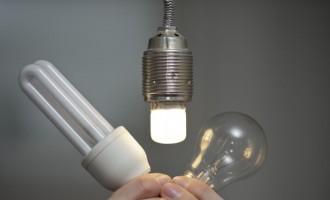 LED, Energy-Saving Light Bulb And Incandescent Light Bulb