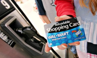 Dawn Barbosa showes off her WAL-MART/Sam's Club reloadable s