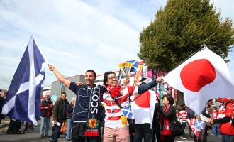 Scotland v Japan - Group B: Rugby World Cup 2015