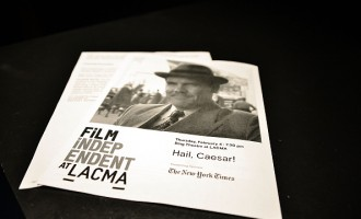 Film Independent At LACMA Special Screening And Q&A Of 'Hail Ceasar!'