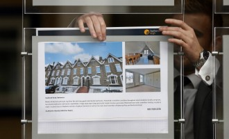 Residential Housing And Estate Agents As Mortgage Approvals Rise