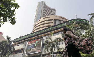 Images Of The BSE As Sensex Pares Biggest Weekly Loss in Four Years