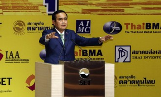 Prime Minister Prayuth Chan-Ocha Visits The Stock Exchange Of Thailand