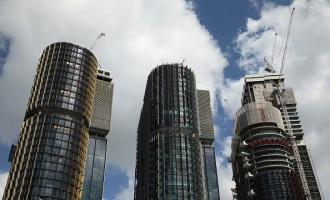 Views Of Lend Lease Group's Barangaroo South Development Ahead Of Half-Year Results
