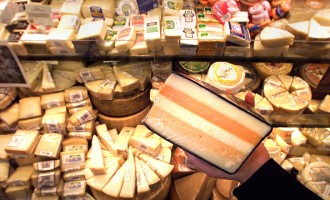 Whole Foods Market features gourmet cheeses from all over the world. Whole Foods Market is now more