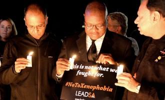 Night Vigil for Xenophobic Attacks in SA