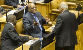 South African Finance Minister Pravin Gordhan Delivers 2016 Budget