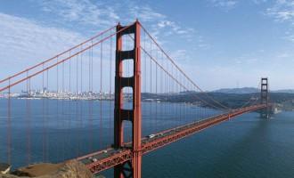 Golden Gate Bridge by Joseph Baermann Strauss