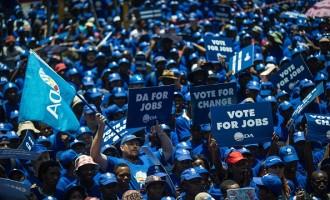 SAFRICA-POLITICS-EMPLOYMENT-PARTIES-DA