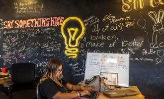 Startup Entrepreneurs At Jerusalem Venture Partners Tech Hub