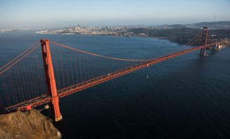 Aerial Views Of The Bay Area As The City Seeks Break From Rising Rents