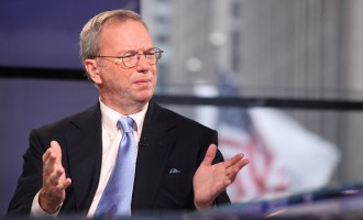Eric Schmidt Visits FOX Business Network's 'Opening Bell With Maria Bartiromo'