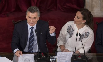 President Mauricio Macri Inaugurates Congressional Session